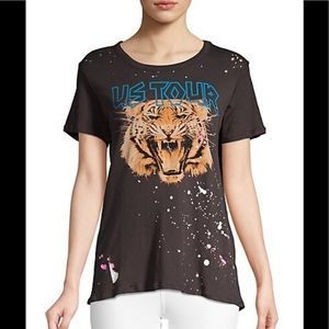 CHASER US TOUR Lion Vintage tee shirt top